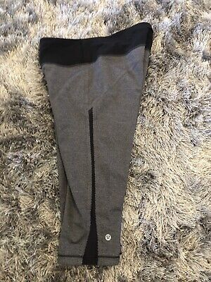 $ CDN37.97 • Buy Lululemon Capri Leggings Crop Size 10 Gray Black
