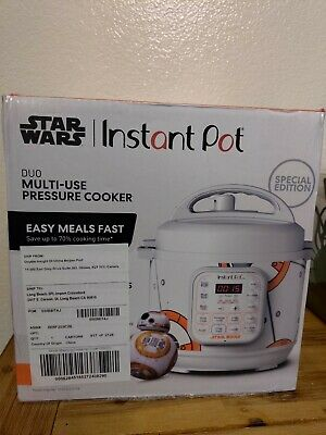 $ CDN138.18 • Buy Star Wars Instant Pot Limited SPECIAL EDITION 3 Quart New BB-8 GREAT GIFT