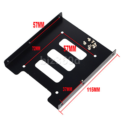 AU5.19 • Buy 2.5  HDD / SSD To 3.5  Bay Mounting Adapter Bracket For Desktop Computer PC Case