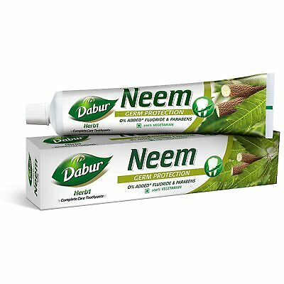 DABUR Herb'L Neem - Germ Protection Toothpaste (200 Gm ) FREE SHIPPING • 10.30£