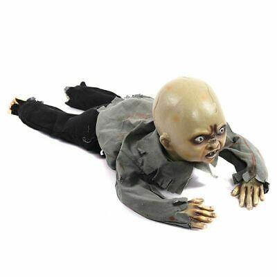 $ CDN78.27 • Buy Animated Crawling Baby Zombie Dolls Scary Haunted House Halloween Decorations