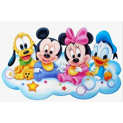 AU17.96 • Buy DIY Full Drill 5D Diamond Painting Mickey Mouse Embroidery Art Souvenir Gifts