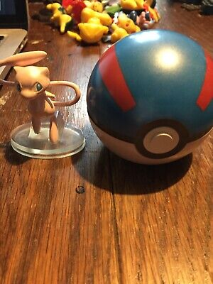 Pokemon 20th Anniversary - MEW - Clip And Carry Great Ball With Stand  • 29.99£