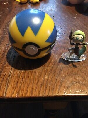 Pokemon 20th Anniversary - Meloetta - Clip And Carry Quick Ball With Stand  • 11.99£