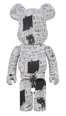 $1999 • Buy Bearbrick Jean-Michel Basquiat #3 1000%