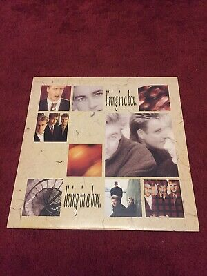 LIVING IN A BOX 12 LP Vinyl Record MINT CONDITION • 1.70£