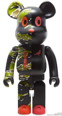 $1099 • Buy Bearbrick X Atmos X Staple #2 1000%