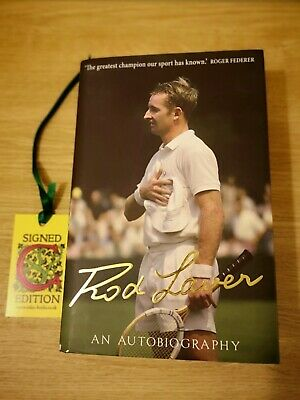 Rod Laver: A Personally Signed Autobiography By Rod Laver (Hardback, 2014). • 25£