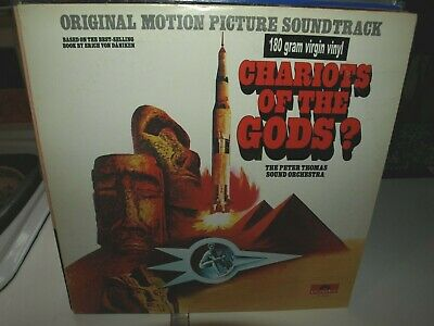 CHARIOTS OF THE GODS - PETER THOMAS SOUND ORCH Vinyl Film Ost Album • 4.20£