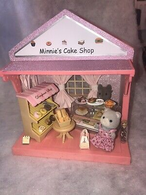 **Deb's Designs Sylvanian Decorated Madeline's Boutique Converted To A Cake Shop • 25.99£