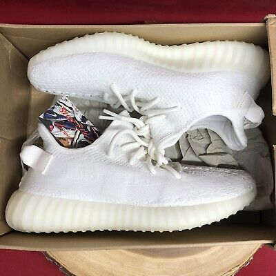$ CDN543.03 • Buy Adidas Yeezy Boost 350 V2 Cream White 100% Authentic CP9366 Size 9