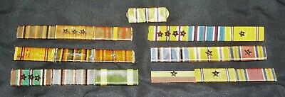 $19 • Buy Original Ww2 U.s. Navy & Usmc Marine Corps Ribbon Bars Lot