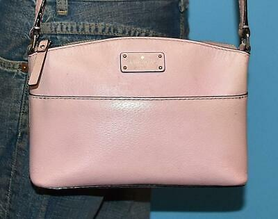 $ CDN31.75 • Buy KATE SPADE NY YORK GROVE STREET Milli Pink Leather Shoulder Crossbody Purse Bag