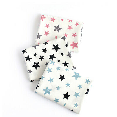 Laminated Cotton Fabric By The Yard Star Fabric 44  Wide CM Small Star Laceking • 10.85£