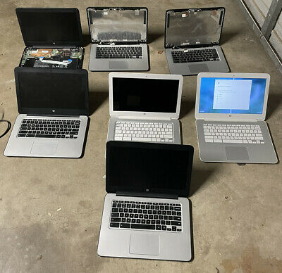 $ CDN164.07 • Buy Lot Of 7 HP 14  Chromebook Laptops | Assorted Models