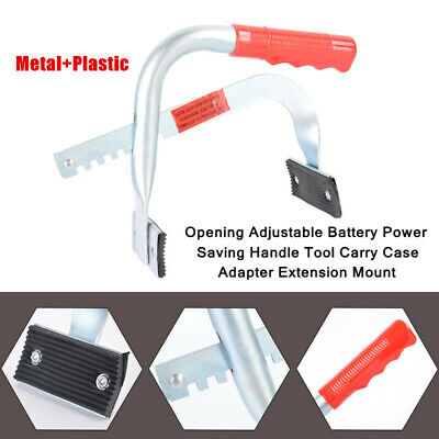 $32.79 • Buy 2X Car Battery Power Saving Handle Carry Case Adapter Extension Mount Adjustable