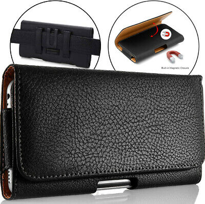 $ CDN9.88 • Buy For Samsung Galaxy S7 Edge Case Leather Belt Holster Clip Pouch Cover