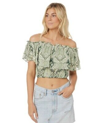 AU28 • Buy Tigerlily Delon Grill Top In Green: Size 10
