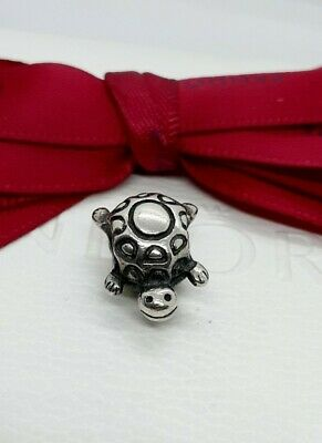 AU29 • Buy Authentic Pandora Silver Smiling Happy Turtle Charm # 790158 Retired Near New