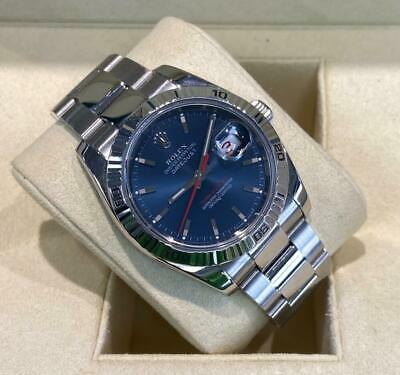 Rolex Datejust 116264 Turn-O-Graph Bezel White Gold 2006 Steel Oyster • 6,000£
