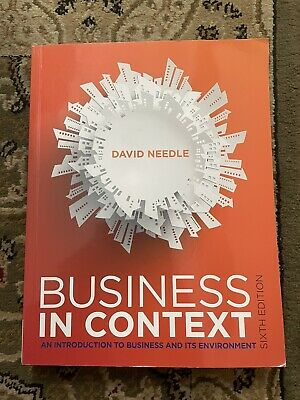Business In Context: An Introduction To Business And It's Environement • 15.50£