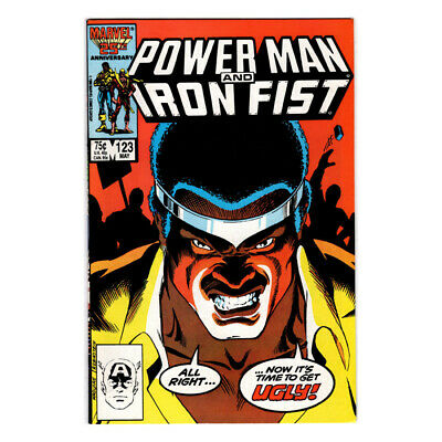 POWER MAN And IRON FIST, MARVEL Comic Book, #123 BAG/BOARD, NM/MT, C938-A • 5.12£