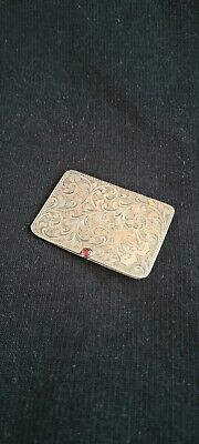 £285 • Buy Edwardian Silver Double Stamp Case