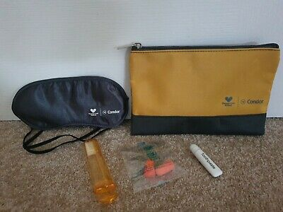 £4.99 • Buy Condor Airlines Thomas Cook Business Class Amenity Kit In Logo Bag Bnip
