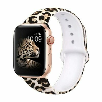 $ CDN26.66 • Buy  Silicone Strap For Apple Watch Band 42mm 38mm 44mm 40mm
