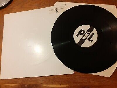 PiL PUBLIC IMAGE LTD. This Is Not A Low Song 4 Track 12  Vinyl Embossed Sleeve S • 0.99£