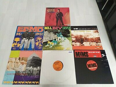 7x HIP HOP VINYL RECORDS SOME RARE FREE UK POSTAGE LOOK!!!! • 19.99£