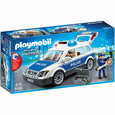 PLAYMOBIL Squad Car With Lights And Sound - City 6920- DAMAGED A • 7.50£
