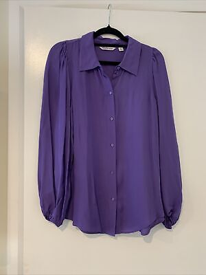 AU35 • Buy Country Road Silk Blend Shirt Sz 12 Almost New