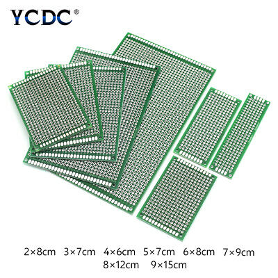£1.54 • Buy PCB Prototyping Printed Circuit Board Single/Double-sided 1mm Strip Breadboard