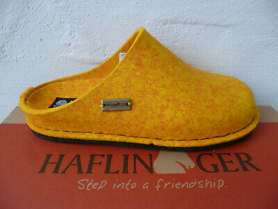Haflinger Ladies Slippers House Shoes Mules Yellow New • 59.20£