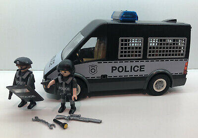 Playmobil City Action Police Van With Lights And Sound (6043) • 19.99£