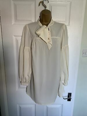 M&S Limited Collection Brand New Ladies Size 12 Tie Neck Top • 2.50£