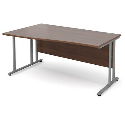 £54.99 • Buy Left And Right Hand Wave Wooden Office Desk Computer Desk - Multi Colours