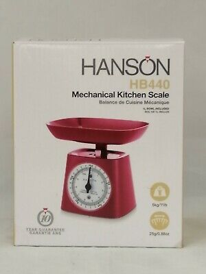 Hanson Mechanical Kitchen Scales Up To 5Kg • 1.49£