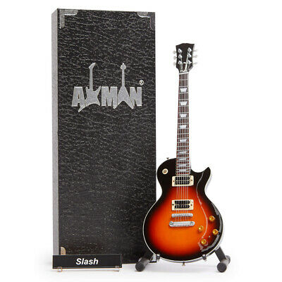 $ CDN47.69 • Buy Slash (Guns N' Roses) Miniature Guitar Replica With Display Case And Stand