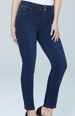 Bnwt Simply Be Denom Shape & Sculpt Control Jeans Straight Leg Plus Size 32 S  • 0.99£