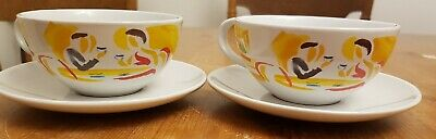 Pair Of Vintage 1980's Nescafe Cups And Saucers  • 7.99£