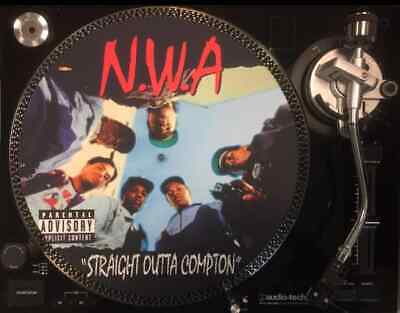 12   Vinyl Record Felt Slipmat Nwa Straight Outta Compton  Hip Hop  Rap 12  Lp • 7.99£