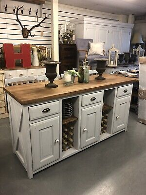 Gorgeous Large Kitchen Island,Breakfast Bar,2 Side Table,Kent Showroom,furniture • 1,650£