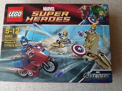 Lego Marvel Super Heroes Captain America Avenging Cycle 6865 • 55.53£