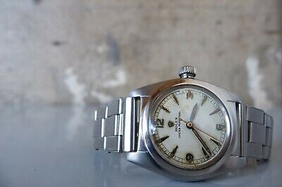 $ CDN2636.23 • Buy Vintage 1946 ROLEX Oyster Perpetual Bubbleback 2940 SS 32mm Automatic Mens 40's