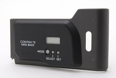 $ CDN375.96 • Buy 【MINT】CONTAX T3 BLACK Data Back From Japan (160-E354)