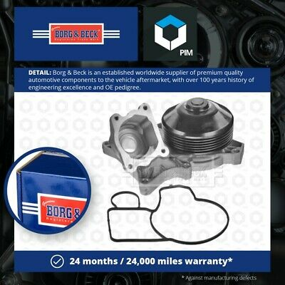 Water Pump BWP2241 Borg & Beck Coolant 11517807311 Genuine Quality Guaranteed • 68.88£
