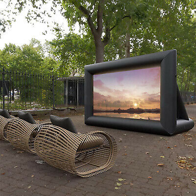 AU313.02 • Buy Inflatable Outdoor Portable Movie Projector Screen Home Cinema Projector &Blower