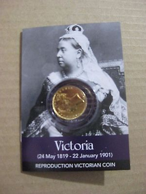 Queen Victoria Gold Sovereign Coin Pack    • 5.99£